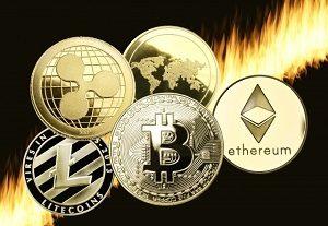 仮想通貨 ビットコイン イーサリアム ライトコイン リップル