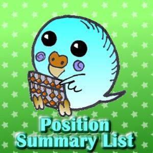 PositionSummaryList